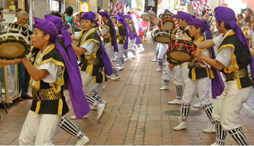 琉球祭2009 エイサーパレード-2
