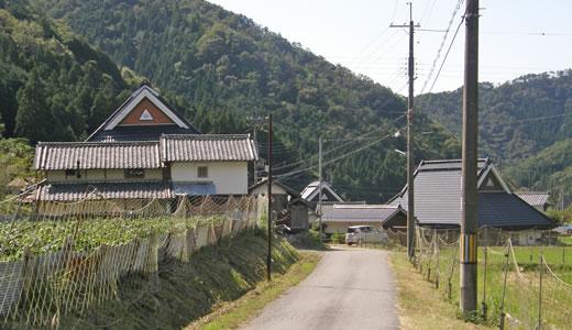 丹波篠山味まつり(4)丸山集落の宿-1