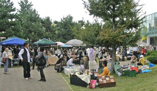 秋の芦屋アートフリーマーケット2009-1