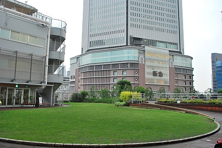 梅田阪神百貨店の屋上庭園