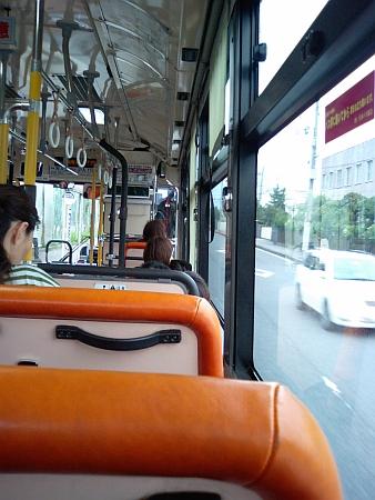 15分遅れの阪神バス ヽ(#`Д´)ノ