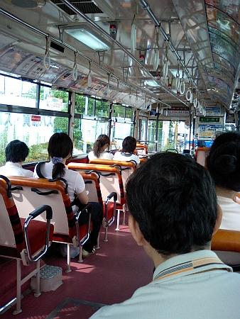 朝の阪神バス