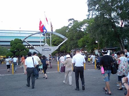 帰りの甲子園球場