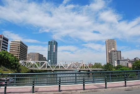 源八橋から北方向