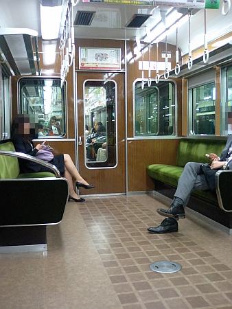 阪急電車の中