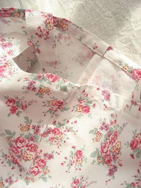 ⑥小花袋縫い