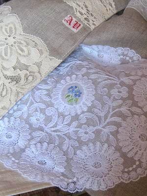 ⑤青いお花の刺繍25