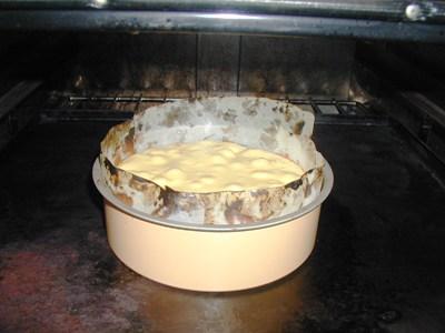 P1010049焼ける、ケーキ