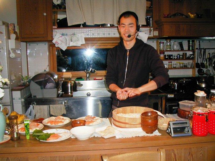 P1010077しゃべる寿司職人2