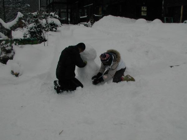 P1010075雪だるま1