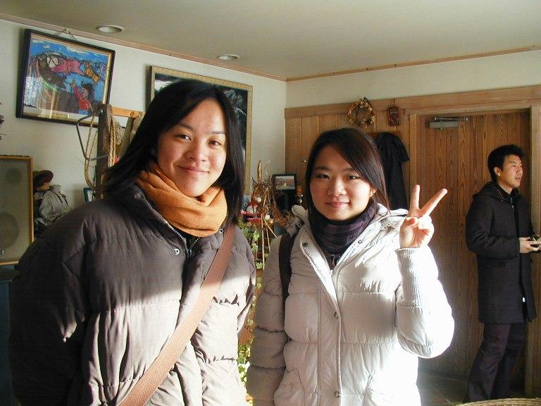 劉さんと湯さん