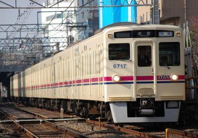 No.18 6017F 快速新宿行