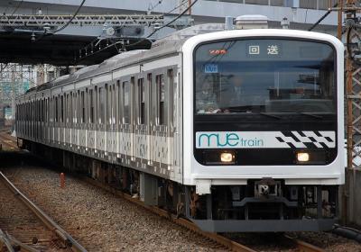 回9652M 209系改MUE-train