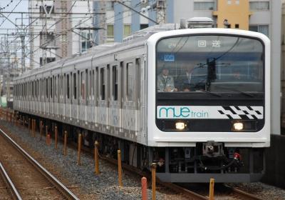 回9654M 209系改MUE-train
