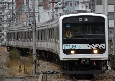 回9741M 209系改MUE-train