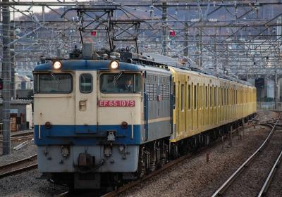 9685レ EF65-1079+西武2000系