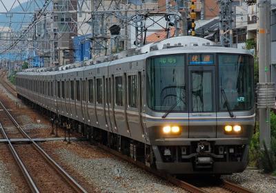A0109 V65編成 快速大阪行