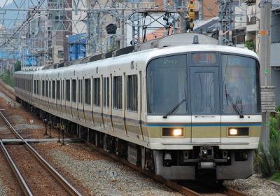 A0443 B10編成 快速大阪行