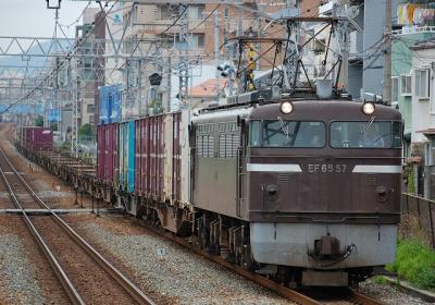 72レ EF65-57+コキ