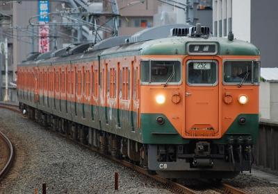 1238M キトC8編成 普通京都行(252運用)