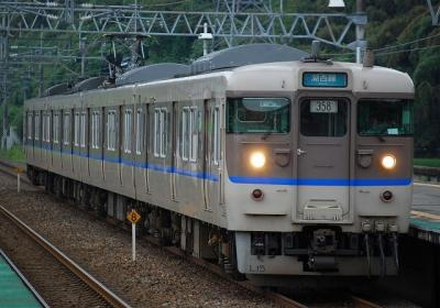 1822M L15編成 普通近江今津行(358運用)