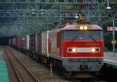 3095レ EF510-10+コキ