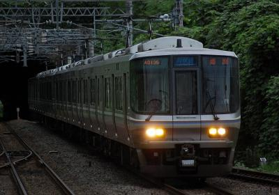 3489M V9編成 新快速姫路行(A0135運用)