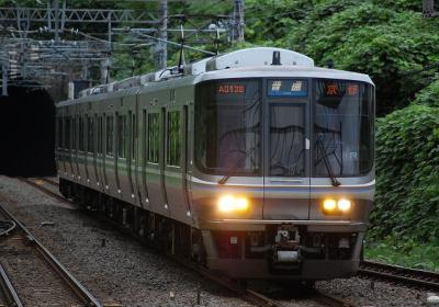 2857M V16編成 普通京都行(A0138運用)