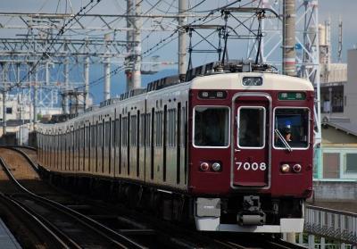 7008F 準急梅田行