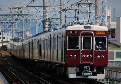 7005F 通勤急行梅田行