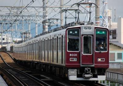 8031F-7017F 準急梅田行