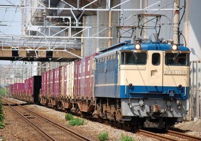 72レ EF65-1129+コキ
