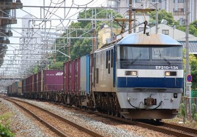 1055レ EF210-134+コキ
