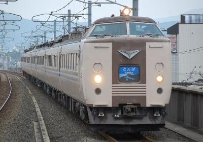 5095M 特急たんば5号+特急まいづる7号 綾部・東舞鶴行