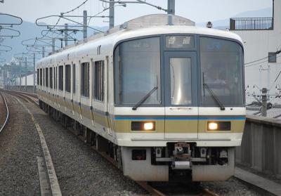 251M 221系K8編成 普通園部行(A0216)