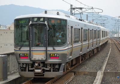 256M 223系F8編成 普通京都行(A0077)