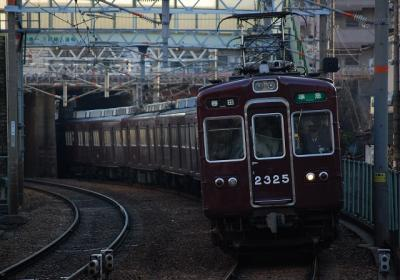 8131 2325F 準急梅田行