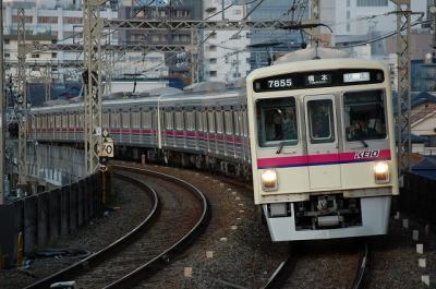 No.15 7203F+7205F 快速橋本行