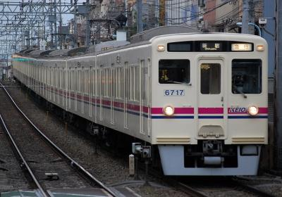 No.21 6017F 急行新宿行