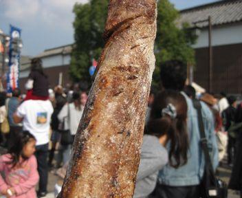 巨大肉串!