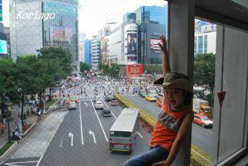2009年7月30日渋谷交差点