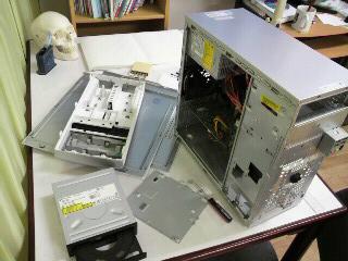 パソコン分解掃除