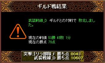 RedStone 11.05.21[01] 武装戦線 結果