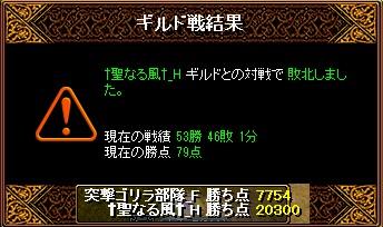 RedStone 11.05.22[01] 聖なる風 結果