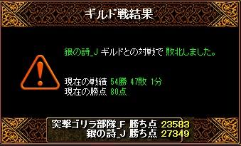 RedStone 11.05.30[00] 銀詩 結果