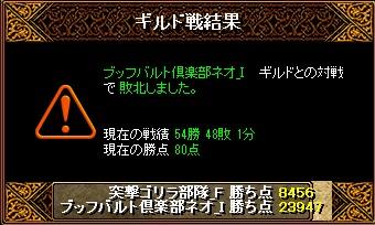RedStone 11.06.01[01] ブッフ 結果