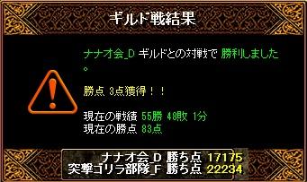 RedStone 11.06.03[00] ナナオ会 結果