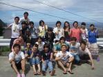 神津島ツアー2010 集合写真