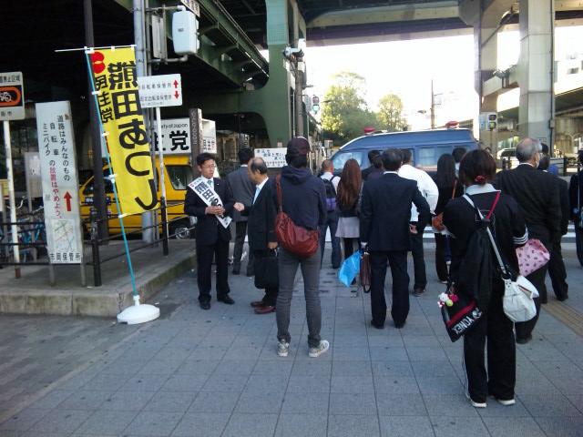 091023弁天町駅前