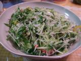 九条ネギのサラダ